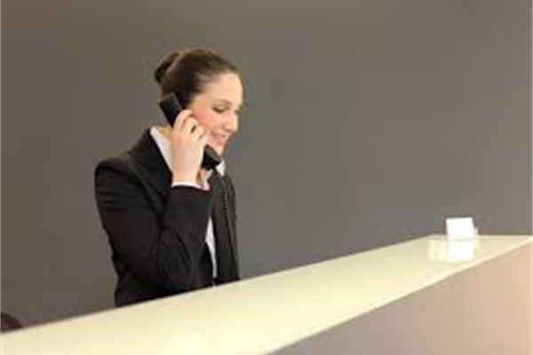 Front Of House Receptionist - Job representing image